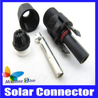 Hot!! 10 Pairs Male+Female 9 Pin Solar MC4 PV Connector,Adapter Photovoltaic TUV Certificate Waterproof IP67 For Solar Panel