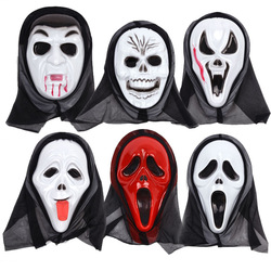 Mask of terror halloween mask props scollops mask skull mask pvc material(China (Mainland))