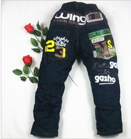 (Wholesale 4 yards) spring models of child cowboy boy pants casual trousers (44 *)