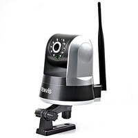 Tenvis IPROBOT 2 Two-Way Audio Night Vision IR-CUT Security Wireless WIFI IP Camera