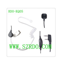 3 Wires PTT Acoustic Tube Earphone For Kenwood Wouxun HYT TYT BAOFENG