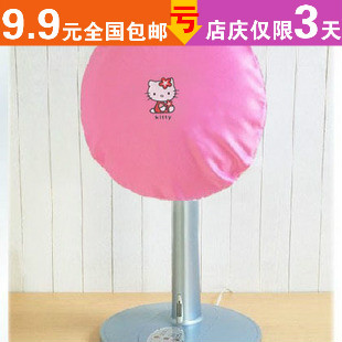Min order mix$15 C255 pink kt fan cover fan dust cover set circle storage(China (Mainland))
