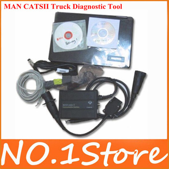 2013 Highly Recommend Newest Version Original Man Cats II Truck Diagnostic Tool Man Cat ii Diagnostic Scanner With Free Shipping