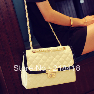 2013 promotion fashion vintage shine paint leather luxury OL handbag messenger bag HOT SELLING free shipping(China (Mainland))