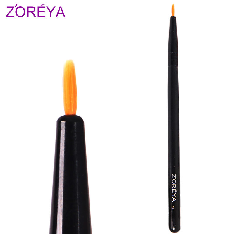 Delaiah zoreya single fine eyeliner brush make-up cosmetic brush eyeliner pen z18(China (Mainland))
