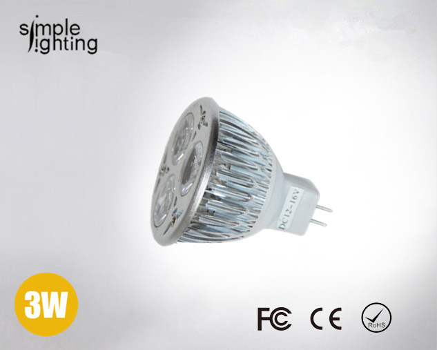 FedEX Free shipping 12V led lighting Spot light 3x1W MR16 for sale lamp Warm White bulb Lamp Spot light wholesale 50pcs/lot(China (Mainland))