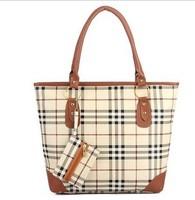 2013 korean stylish women leather handbag ladies leather handbag with PU leather shoulder handbag