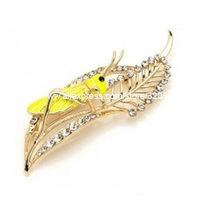 grasshopper brooch