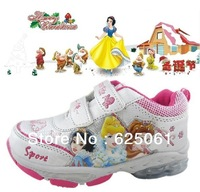 Free shipping! Princess girl sports shoes kid's shoes children's shoes casual shoes