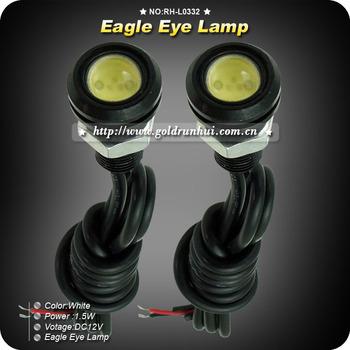 4pcs/lot Newest 1.5W LED High Power Eagle Eye Rear Back Up Reverse Tail Light Lamp Car Lamp