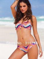 Free Shipping New Arrival Fashion Sexy Swimsuit,Bikini Women's Victoria Beachwear Swimwear Bikini Bandeau