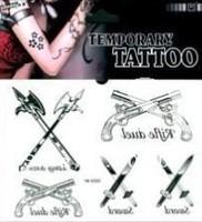 Free shipping temperary  tattoo sticker  64 pcs per lot water proof tattoo sticker K 05