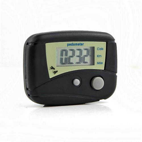 LCD Run Step Pedometer Walking Calorie Counter Distance(China (Mainland))