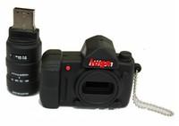 10xFashion 8GB USB Flash Memory Stick pen Drive -camera shape usb for nikon shape Arts and crafts Free shipping