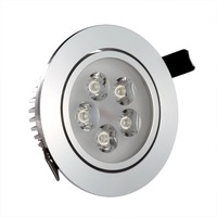 Led spotlight ceiling light downlight high quality power 5w full set