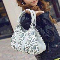 2014 Sale Limited Freeshipping Women Pu Zipper Cell Phone Pocket Solid Soft Casual Fashion Party Women's Handbag Vintage Bag Big