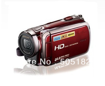 HDV-78E Digital video camera 10 x digital zoom Hd 720 p Max 16 mp 3.0 inch touch screen NP120 lithium battery car DVR recoder