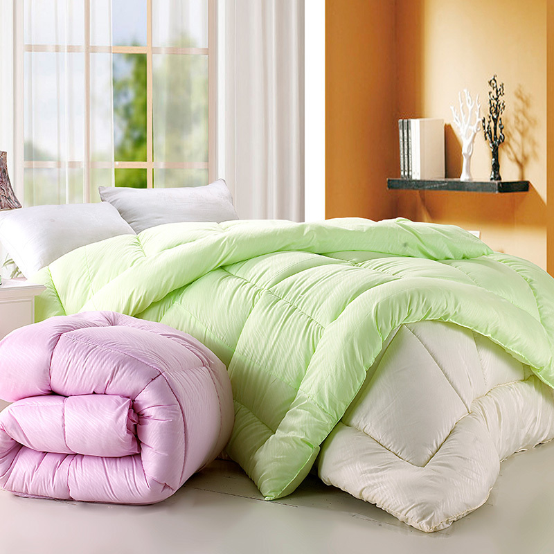 Textile 2012 solid color sanded embossed quilt winter is spring and autumn was quilt(China (Mainland))