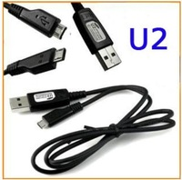 Original U2 5 Pin Micro USB Data Cable Line For Samsung/HTC/BlackBerry/Motorola/LG/Nokia/ZTE/HuaWei/Sony-freeshipping 1pc