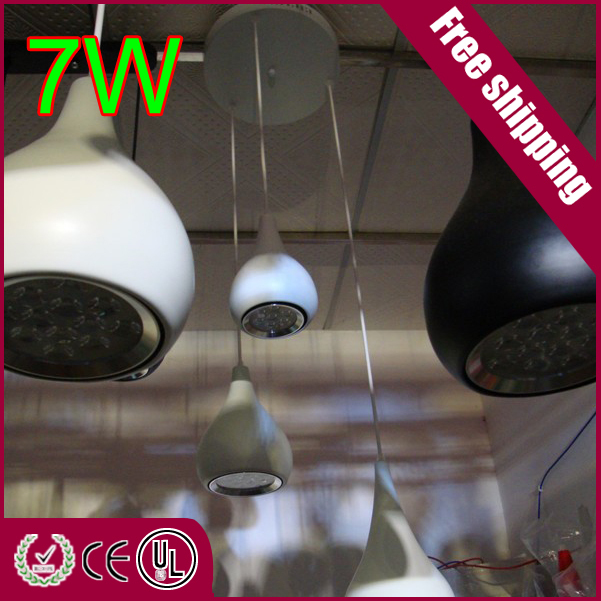 Free shipping USA bridgelux led chip AC220V CE and ROHS restaurant decorationwhite blackUltra Bright(China (Mainland))