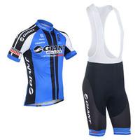 2013 New giant Team Outdoor Sportwear Cycling Jersey Bike Bicycle Wear + Bib Shorts Suits Size : S~XXXL