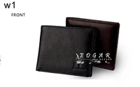 Free shipping NEW100% men fashion head layer cowhide  wallets wholesale and retail