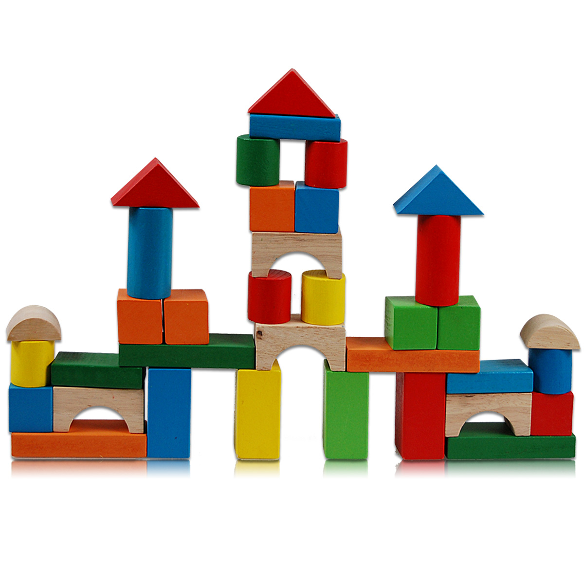 Toy Large Wooden Blocks 55