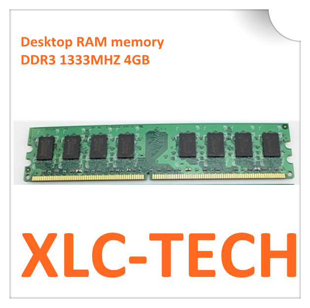 big discount Desktop RAM memory DDR3 1333MHZ 4GB for both intel and amd motherboard support drop shipping(China (Mainland))