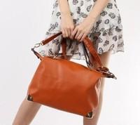 Free shipping wholesale retail 2013 new fashion genuine leather handbags designer brands100% cow leather ok handbag 1