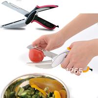 Best offer!! Universal Kitchen scissors (Lopper + + opener + knife + cutting board planer) Kitchen integration