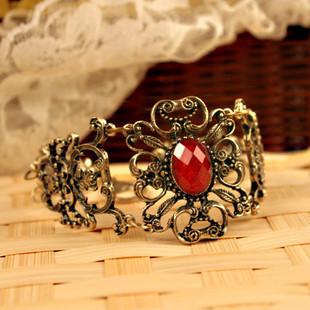 D.D 2013 new fashion cool fashion accessories vintage royal gem flower vine flower bracelet  free shipping B008