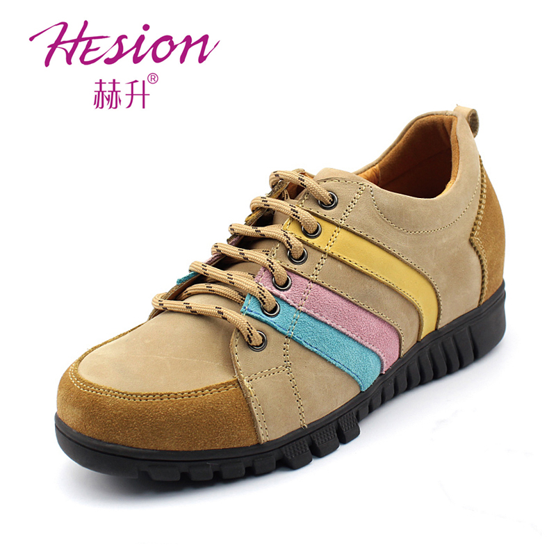 Summer elevator shoes sports shoes outdoor shoes hiking shoes sport w45f31(China (Mainland))