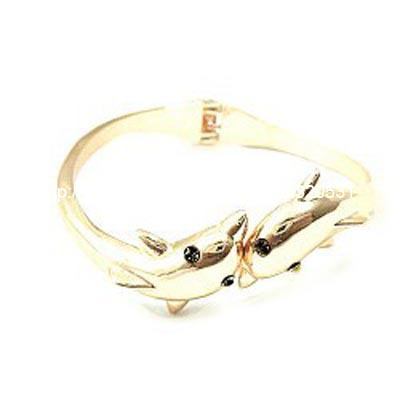 gold dolphin bracelet(China (Mainland))