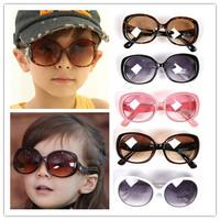 New 2015 Fashion Glasses Korean style kids sunglasses children boys and girls 5 colors children oculos Brand Sun glasses