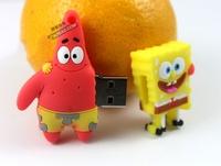 connection SpongeBob SquarePants Patrick Star 4GB 8GB 16GB 32GB Gift USB Flash Disk Free shipping