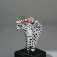 Universal Shape Adjustable Snake Eyes Shifting Gear Knob with LED Red Lights