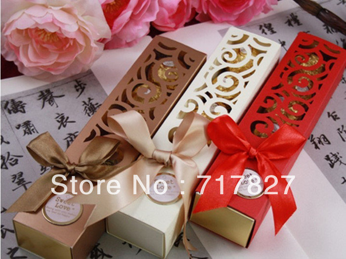 10pcs/lot Free Shipping Flower Window Chocolate Boxes Very Expensive And High-quality Euro-style Candy Box(China (Mainland))