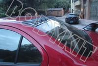 Free shipping EVO 10 lancer CJ ES vrx plastic roof spoiler generator