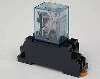 10set 220V AC Coil Power Relay MY2NJ HH52P-L 8PIN 5A With PYF08A Socket Base