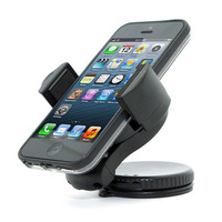 Portable Mini Windshield Dashboard Car Mount Holder for iPhone 5 4s Samsung Galaxy S4 S3 S2 Note HTC Free Shipping
