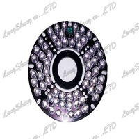 IR 60 Degrees Bulb Board CS/MTV Lens for Free shipping 60 Led 5mm Infrared Security CCTV Camera 850nm