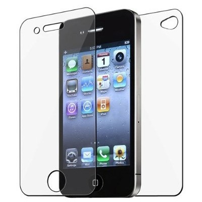 500 pcs/lot Full Body Front and Back LCD Screen Protector for iphone 4 4S Free shipping by DHL FEDEX(China (Mainland))