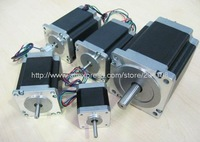 2013 Best Selling! 5 PCS Nema 17 Stepper Motor 42BYGHW811 70oz-in 48mm 2.5A CE ISO ROHS CNC Router Mill Cut Laser Engraving