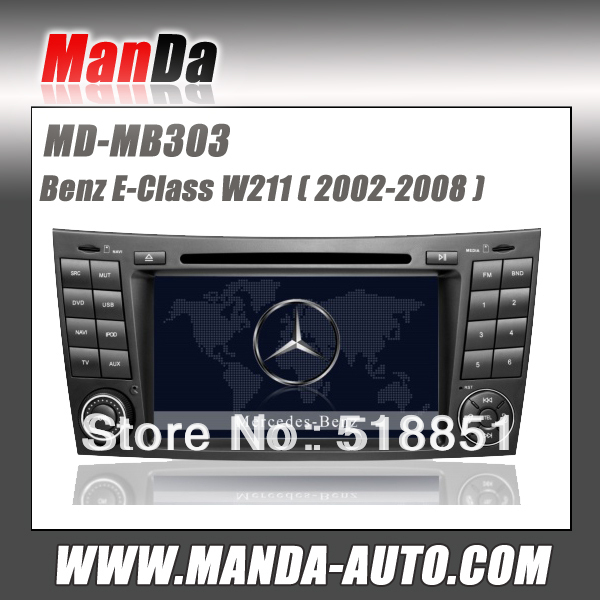 Manda-auto MD-MB303 Car radio for Mercedes BENZ E-W211 CLS W219 CLK W209(China (Mainland))