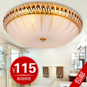 Brief modern luxury watermelon crystal ceiling light(China (Mainland))