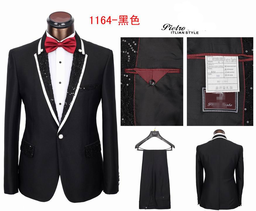 GoodMen's business One Button Suits Brand Wedding Suitsale(China (Mainland))