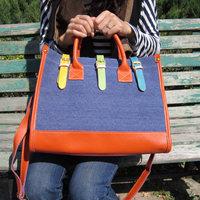 Маленькая сумочка 2013 Bags 12-square-meter cross-body bag shopping transparent green neon plastic bag hot-selling waterproof