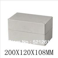 plastic waterproof box plastic enclosure seal box 200X120X108