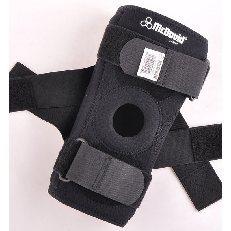 Basketball flanchard cross kneepad mcdavid 425r(China (Mainland))