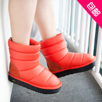 Free shipping wholesale retail 2013 new muffin higher platform shoes snow boots woman boots of cotton 89